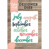 Echo Park - Daily Life Collection - Designer Dies - Script July to December