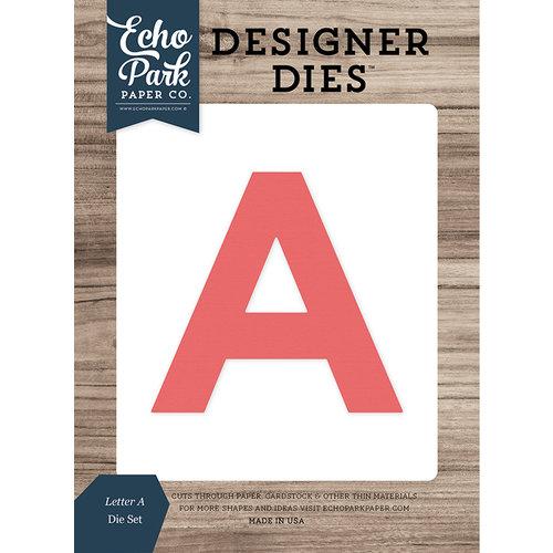 Echo Park - Designer Dies - Letter A