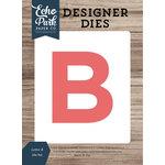 Echo Park - Designer Dies - Letter B