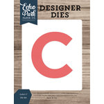 Echo Park - Designer Dies - Letter C