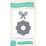 Echo Park - Christmas Cheer Collection - Designer Dies - Christmas Wreath