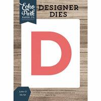 Echo Park - Designer Dies - Letter D
