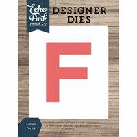 Echo Park - Designer Dies - Letter F
