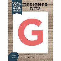 Echo Park - Designer Dies - Letter G