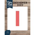 Echo Park - Designer Dies - Letter I