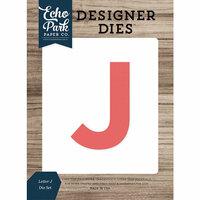 Echo Park - Designer Dies - Letter J