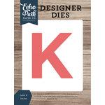 Echo Park - Designer Dies - Letter K