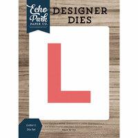 Echo Park - Designer Dies - Letter L