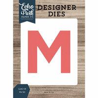 Echo Park - Designer Dies - Letter M