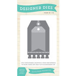 Echo Park - Christmas Cheer Collection - Designer Dies - Holiday Tag