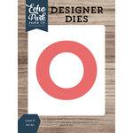 Echo Park - Designer Dies - Letter O