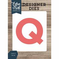 Echo Park - Designer Dies - Letter Q