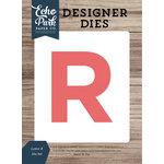 Echo Park - Designer Dies - Letter R