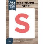 Echo Park - Designer Dies - Letter S