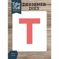 Echo Park - Designer Dies - Letter T