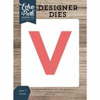Echo Park - Designer Dies - Letter V