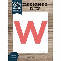 Echo Park - Designer Dies - Letter W