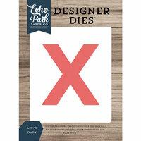 Echo Park - Designer Dies - Letter X
