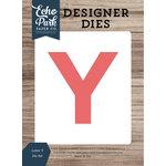 Echo Park - Designer Dies - Letter Y