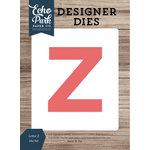 Echo Park - Designer Dies - Letter Z