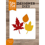 Echo Park - Harvest Season Collection - Designer Dies - Pointed Leaves