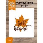 Echo Park - Harvest Season Collection - Designer Dies - Fall Harvest