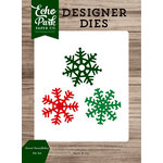Echo Park - Christmas Cheer Collection - Designer Dies - Sweet Snowflakes