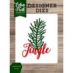 Echo Park - Christmas Cheer Collection - Designer Dies - Jingle Branch