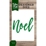 Echo Park - Christmas Cheer Collection - Designer Dies - Noel Word