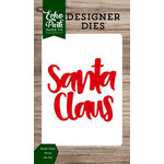 Echo Park - Christmas Cheer Collection - Designer Dies - Santa Claus Word