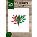 Echo Park - Christmas Cheer Collection - Designer Dies - Jolly Branch Trio