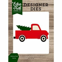 Echo Park - Christmas Cheer Collection - Designer Dies - Delivery Truck