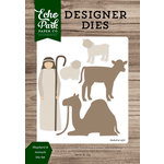 Echo Park - Christmas Cheer Collection - Designer Dies - Shepherd and Animals