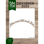 Echo Park - Christmas Cheer Collection - Designer Dies - Wise Men Still Seek Him
