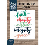 Echo Park - Faith Collection - Designer Dies - Have Faith Word