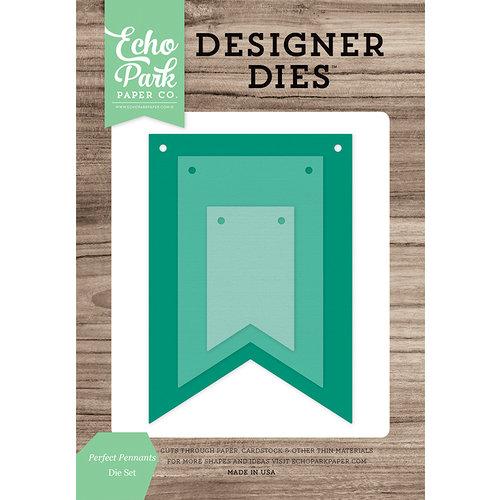 Echo Park - Designer Dies - Perfect Pennants