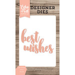 Echo Park - Designer Dies - Best Wishes Word