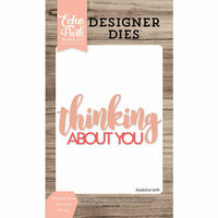 Echo Park - Designer Dies - Thinking About You Word