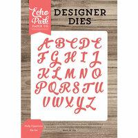 Echo Park - Designer Dies - Holly Uppercase
