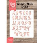 Echo Park - Designer Dies - Abigail Uppercase