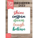 Echo Park - Designer Dies - Inspire Word