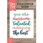 Echo Park - Designer Dies - You Are Amazing Word