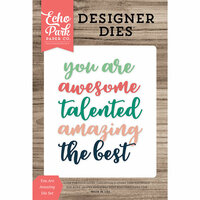 Echo Park - Designer Dies - You Are Amazing Word