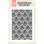 Echo Park - Clear Acrylic Stamps - Darling Damask Background
