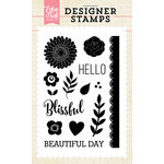 Echo Park - Clear Acrylic Stamps - Beautiful Day