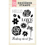 Echo Park - Clear Acrylic Stamps - Thinking About You