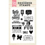 Echo Park - Clear Acrylic Stamps - Ray of Sunshine