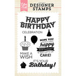 Echo Park - Clear Acrylic Stamps - It's Your Birthday