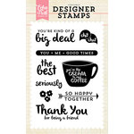 Echo Park - Clear Acrylic Stamps - So Happy Together