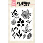Echo Park - Clear Acrylic Stamps - Fall Botanicals